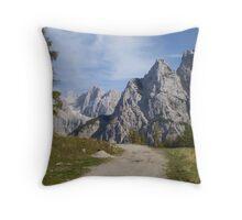 Vrsic Pass, Slovenia Throw Pillow