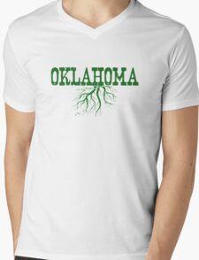 Oklahoma Roots Mens V-Neck T-Shirt