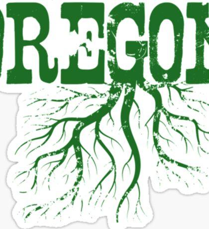 Oregon Roots Sticker