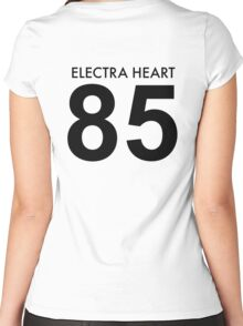 Electra Heart Jersey  Women's Fitted Scoop T-Shirt