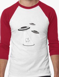 Pinheads Alien Abduction Men's Baseball ¾ T-Shirt