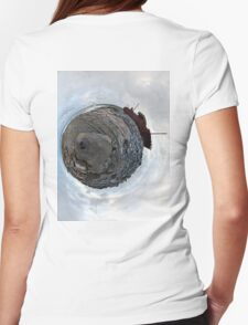 Shipwreck on Inisheer: The Plassey Wreck Womens Fitted T-Shirt
