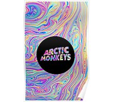 Arctic Monkeys Color Swirl  Poster