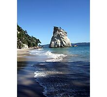 Shadowy Cathedral Cove Photographic Print