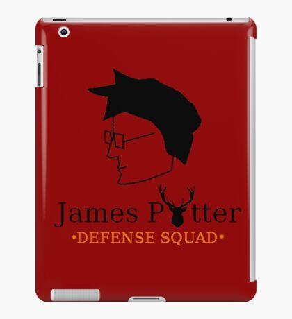 James Potter Defense Squad iPad Case/Skin