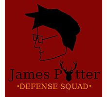 James Potter Defense Squad Photographic Print