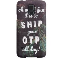 Oh What Fun it is To Ship Samsung Galaxy Case/Skin
