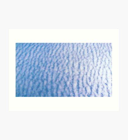 Ploughed Cloud Art Print