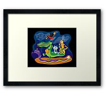 Halloween Procession Framed Print