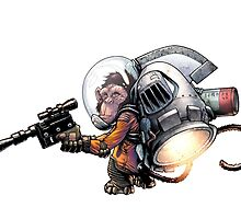 Jetpack Monkey by Gregory Titus