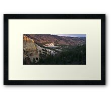 River Runs Framed Print