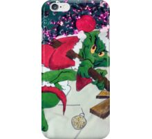 Merry Grinchmas iPhone Case/Skin