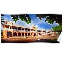 Queens Hotel, Townsville. Poster
