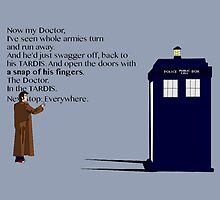 Doctor Who TARDIS River Song Quote by GeekyToGo