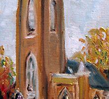 St. Paul's Episcopal Church, Franklin, TN by Susan E Jones