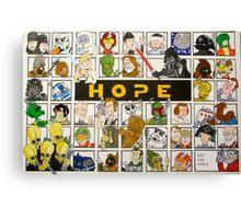 Keep HOPE alive Canvas Print