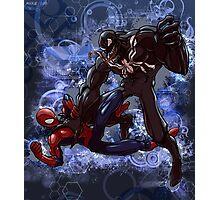 Spidey Vs. Venom Photographic Print