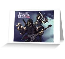 Everything in that General Direction Must Die! Greeting Card