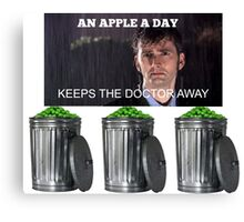 An Apple a Day Keeps the Doctor Away ;( Canvas Print