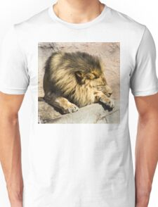 Lazy Lion  Unisex T-Shirt