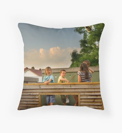 Missile Throw Pillow