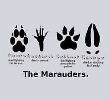 Marauders Animagus Footprint  by GeekyToGo