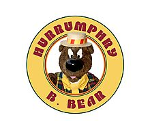 Hurrumphry B. Bear (Humphrey B. Bear parody) Photographic Print