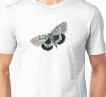 antique typographic vintage moth Unisex T-Shirt
