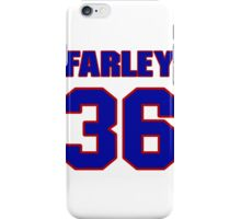 National football player Dick Farley jersey 36 iPhone Case/Skin