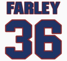 National football player Dick Farley jersey 36 by imsport