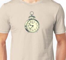 antique typographic vintage alarm clock Unisex T-Shirt