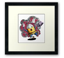 OH NO! Not Again! Framed Print