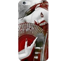 Geisha Red iPhone Case/Skin