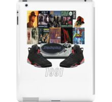 1991 Hip Hop & Jordans iPad Case/Skin