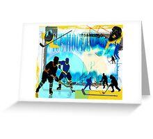 Ice Hockey Greeting Card