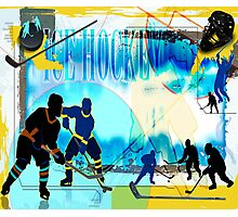 Ice Hockey Photographic Print