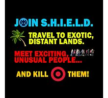 Join SHIELD Photographic Print