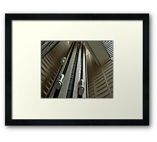 Houston We Have Lift Off Framed Print