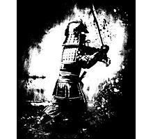 Samurai  (white) Photographic Print