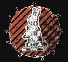 White Rabbit Enjoying the Sunset by Denis Marsili - DDTK