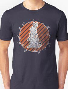 White Rabbit Enjoying the Sunset Unisex T-Shirt