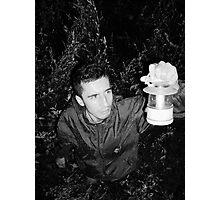 Strange night - I'm LOST Photographic Print