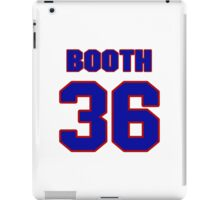 National football player Issac Booth jersey 36 iPad Case/Skin