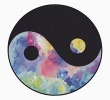 Tie dye Ying & Yang by Indiesk8ter