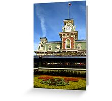 Walt Disney World Railroad Greeting Card