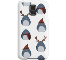 Penguin Pattern Samsung Galaxy Case/Skin