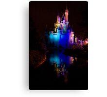 Magic Kingdom Reflections Canvas Print