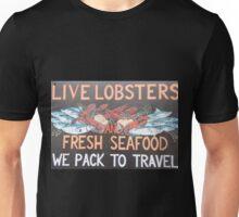 lobster sign Unisex T-Shirt