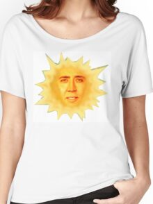 Nicolas Cage Teletubbies Sun Women's Relaxed Fit T-Shirt
