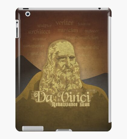Leonardo DaVinci's legacy iPad Case/Skin
